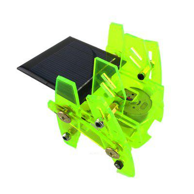 DIY Solar Powered Robot Model Science Intelligence Toy