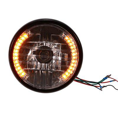 YKT - AB036 7 inch Motorcycle Headlight LED Turn Signal Light