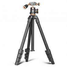 QZSD Q160S Portable Aluminum Alloy Camera Tripod