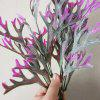 LmDec Artificial Flower Antlers Grass 1PC - BEGONIA