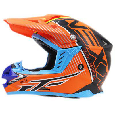 MX416 Motorcycle Cross Country Racing Full Face Helmet