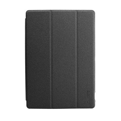 Buy BLACK gocomma Tri-fold PU + PC Stand Protective Case for Teclast P10 for $10.39 in GearBest store