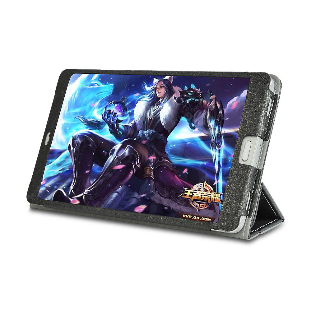 Gocomma PU Leather Full Body Stand Case for Teclast T8 - GOLDEN