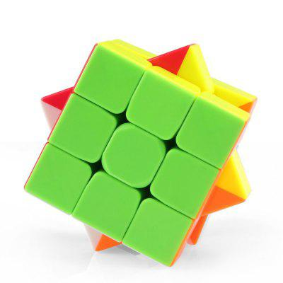 QiYi Warrior 3 x 3 x 3 Speed Magic Cube Puzzle Finger ToyMagic Tricks<br>QiYi Warrior 3 x 3 x 3 Speed Magic Cube Puzzle Finger Toy<br><br>Age: Above 3 year-old<br>Brand: qiyi<br>Difficulty: 3x3x3<br>Material: ABS<br>Package Contents: 1 x Magic Cube<br>Package size (L x W x H): 5.90 x 5.90 x 5.90 cm / 2.32 x 2.32 x 2.32 inches<br>Package weight: 0.0850 kg<br>Product size (L x W x H): 5.60 x 5.60 x 5.60 cm / 2.2 x 2.2 x 2.2 inches<br>Product weight: 0.0750 kg<br>Type: Intelligence toys, Magic Cubes