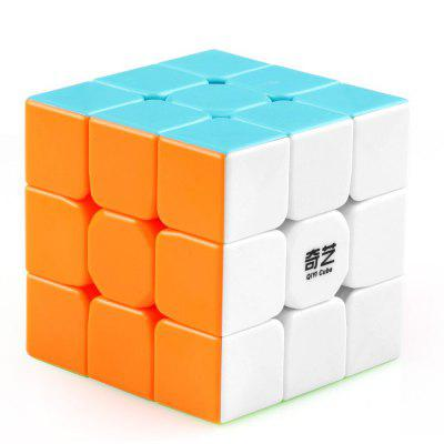 Gearbest QiYi Warrior 3 x 3 x 3 Speed Magic Cube Puzzle Finger Toy