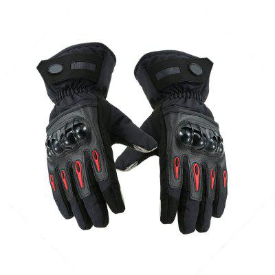 YKT - AB043 Motorcycle Waterproof Warm Gloves 1 Pair