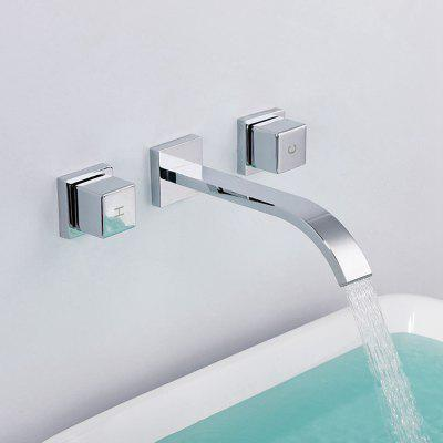 MLFALLS M1310CWI Waterfall Bathroom Basin Sink Faucet
