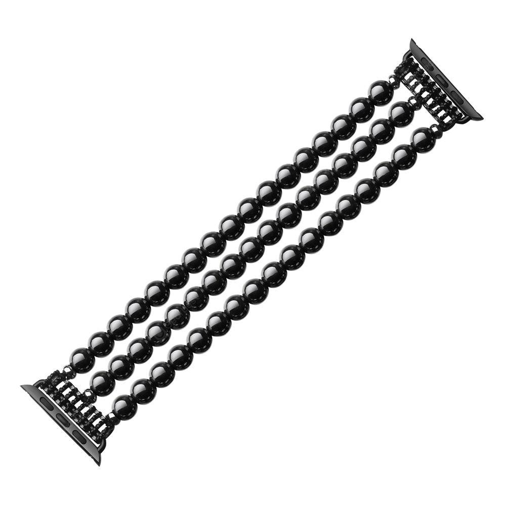 Hematite Elasticized Watch Band for iWatch 38MM
