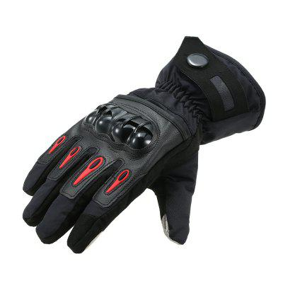 YKT - AB044 Motorcycle Waterproof Warm Gloves 1 Pair