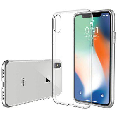 ASLING Ultra-slim TPU Cover Case para iPhone X