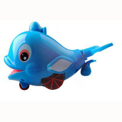 Novelty Kids Clockwork Water Toy Swimming Dolphin