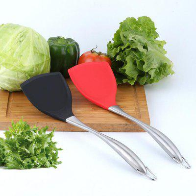 Not Sticky Silicone Spatula Stainless Handle Cooking Tool 1pcOther Cooking Tools<br>Not Sticky Silicone Spatula Stainless Handle Cooking Tool 1pc<br><br>Package Contents: 1 x Spatula<br>Package Size(L x W x H): 14.00 x 35.00 x 2.50 cm / 5.51 x 13.78 x 0.98 inches<br>Package weight: 0.1400 kg<br>Product Size(L x W x H): 10.00 x 34.00 x 2.00 cm / 3.94 x 13.39 x 0.79 inches<br>Product weight: 0.1370 kg