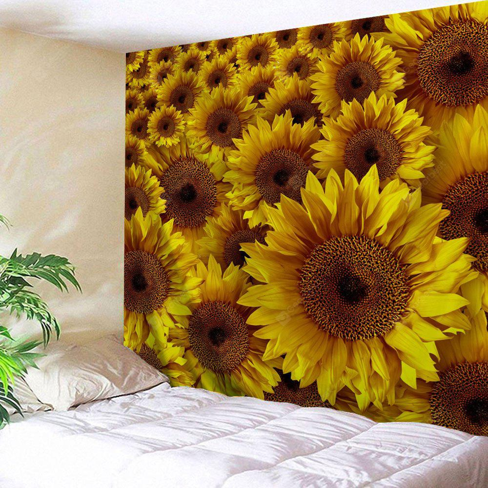 Sunflowers Pattern Wall Decor Tapestry - $7.41 Free Shipping ...