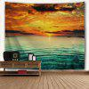 Sea Sunset Print Wall Hanging Tapestry - COR MISTURA