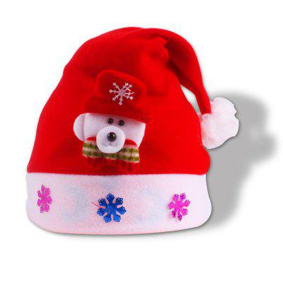 Creative Christmas Hat for Children 4pcs