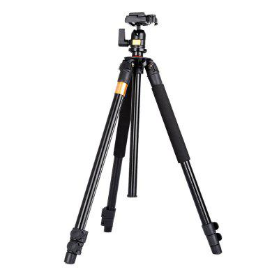 QZSD Q308 Portable Tripod with Ball Head for DSLR Camera