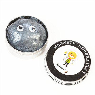 Magnetic Rubber Clay Mud Anti-stress Intelligence Toy 1pc