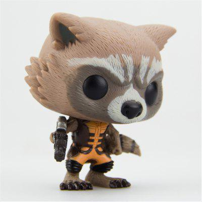 Cute Cartoon Raccoon Shape Doll Model ToyMovies &amp; TV Action Figures<br>Cute Cartoon Raccoon Shape Doll Model Toy<br><br>Completeness: Finished Goods<br>Gender: Unisex<br>Materials: PVC<br>Package Contents: 1 x Doll Toy<br>Package size: 15.00 x 12.00 x 20.00 cm / 5.91 x 4.72 x 7.87 inches<br>Package weight: 0.4500 kg<br>Product size: 11.50 x 9.00 x 16.00 cm / 4.53 x 3.54 x 6.3 inches<br>Product weight: 0.1500 kg<br>Stem From: China<br>Theme: Animals