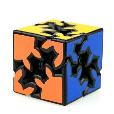 2 x 2 x 2 3D Gear Shaped Speed Magic Cube Finger Toy