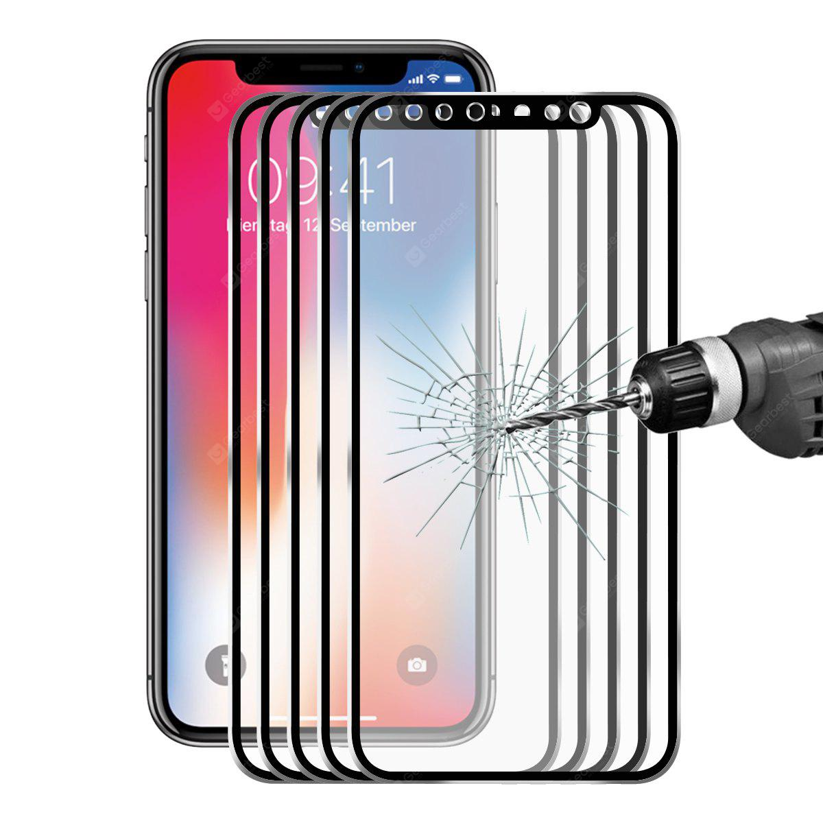 Hat - Prince 3D Hook Face Screen Protector for iPhone X 5pcs
