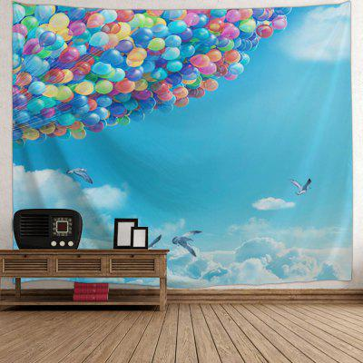 Sky Ballons Print Tapestry Wall Hanging DecorTapestries<br>Sky Ballons Print Tapestry Wall Hanging Decor<br><br>Feature: Washable<br>Material: Polyester<br>Package Contents: 1 x Tapestry<br>Shape/Pattern: Animal<br>Style: Fashion<br>Weight: 0.3200kg