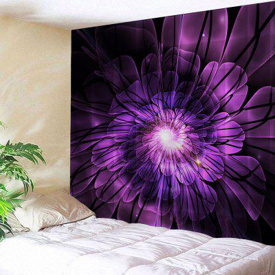 Flower Print Tapestry Wall Hanging Decor