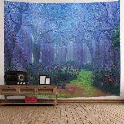 Forest Floral Path Print Tapestry Wall Hanging DecorTapestries<br>Forest Floral Path Print Tapestry Wall Hanging Decor<br><br>Feature: Washable<br>Material: Polyester<br>Package Contents: 1 x Tapestry<br>Shape/Pattern: Floral,Forest<br>Style: Natural<br>Theme: Landscape<br>Weight: 0.3200kg
