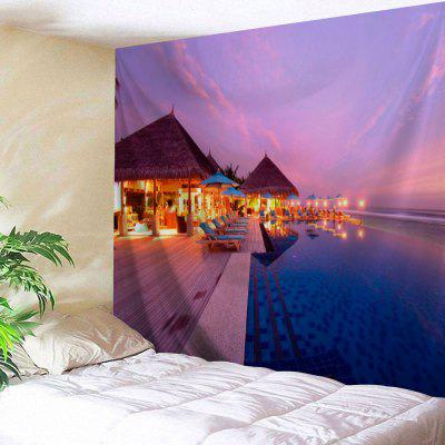Seashore Hotel Wall Tapestry