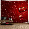 Valentin Heart Starlight impression Tapisserie Tenture murale Decor - ROUGE
