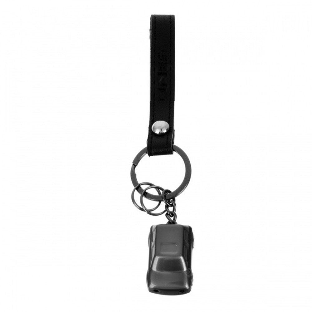 Honest BCK2 - 511 Car Style Key Chain with LED Light / Leather Strap