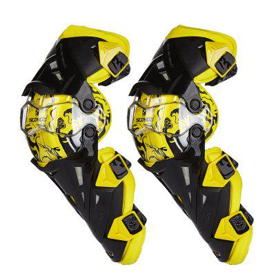 YKT - AB101 Motorcycle Breathable Kneelet Protective Gear Set