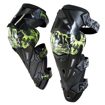 YKT - AB099 Motorcycle Breathable Kneelet Protective Gear Set