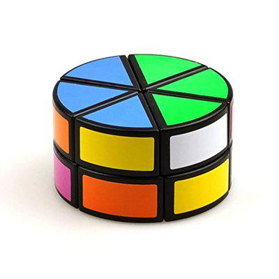 Cylindrical Smooth Speed Magic Cube Intelligence Toy