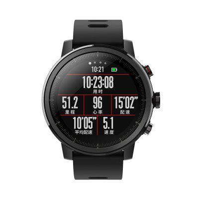 Xiaomi Huami Amazfit Smartwatch 2 Running WatchSmart Watches<br>Xiaomi Huami Amazfit Smartwatch 2 Running Watch<br><br>Alert type: Vibration<br>Anti-lost: Yes<br>Band material: Silicone<br>Band size: 23 x 2.2cm<br>Battery  Capacity: 280mAh<br>Bluetooth calling: Callers name display,Phone call reminder<br>Bluetooth Version: Bluetooth 4.2<br>Brand: Xiaomi<br>Case material: Stainless Steel<br>Charging Time: About 2hours<br>Compatability: Android 4.4 / iOS 9.0 and above systems<br>Compatible OS: Android, IOS<br>Dial size: 3.5 x 3.5 x 1.5cm<br>Find phone: Yes<br>Groups of alarm: 3<br>Health tracker: Sleep monitor<br>IP rating: IP57<br>Language: Simplified Chinese,Traditional Chinese<br>Locking screen: 1<br>Messaging: Message reminder<br>Notification: Yes<br>Notification type: Wechat, WhatsApp, Facebook, Twitter, Skype, Line, G-mail<br>Operating mode: Press button<br>Other Function: Calendar, Waterproof, Bluetooth, Alarm<br>Package Contents: 1 x Smart Watch, 1 x Charging Cable, 1 x Chinese Manual<br>Package size (L x W x H): 12.00 x 12.00 x 10.00 cm / 4.72 x 4.72 x 3.94 inches<br>Package weight: 0.2000 kg<br>People: Female table,Male table<br>Product size (L x W x H): 23.00 x 3.50 x 1.50 cm / 9.06 x 1.38 x 0.59 inches<br>Product weight: 0.0600 kg<br>RAM: 512MB<br>Remote control function: Remote Camera<br>ROM: 4GB<br>Screen: OLED<br>Shape of the dial: Round<br>Standby time: 5 days<br>Type of battery: Polymer Li-ion Battery<br>Waterproof: Yes