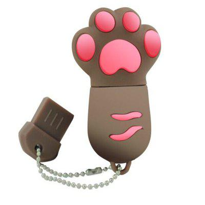 USB 2.0 Flash Driver Cute Cat Claw