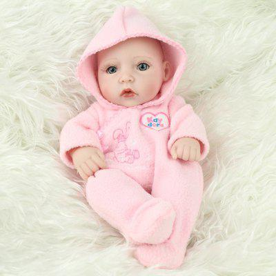 Simulation Silicone Infant Baby Girl Doll Toy