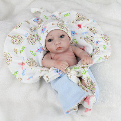 Lovely Reborn Doll Emulational Baby Silicone Toy