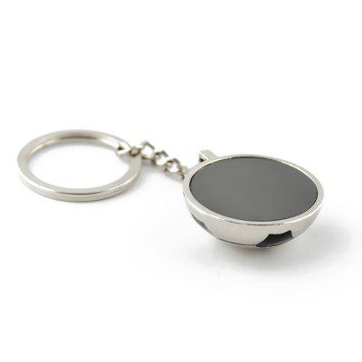 Creative Football Style Key RingKey Chains<br>Creative Football Style Key Ring<br><br>Design Style: Fashion<br>Gender: Unisex<br>Materials: Metal<br>Package Contents: 1 x Key Chain<br>Package size: 8.00 x 5.00 x 2.00 cm / 3.15 x 1.97 x 0.79 inches<br>Package weight: 0.0300 kg<br>Product size: 9.00 x 3.10 x 1.50 cm / 3.54 x 1.22 x 0.59 inches<br>Product weight: 0.0260 kg<br>Theme: Hang Decoration
