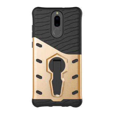 Heat Dissipation 2 in 1 TPU + PC Folding Holder CoverCases &amp; Leather<br>Heat Dissipation 2 in 1 TPU + PC Folding Holder Cover<br><br>Features: Anti-knock, Back Cover, Cases with Stand, Dirt-resistant<br>Mainly Compatible with: HUAWEI<br>Material: TPU, PC<br>Package Contents: 1 x Case<br>Package size (L x W x H): 18.00 x 10.00 x 2.50 cm / 7.09 x 3.94 x 0.98 inches<br>Package weight: 0.0550 kg<br>Product Size(L x W x H): 16.20 x 8.20 x 1.35 cm / 6.38 x 3.23 x 0.53 inches<br>Product weight: 0.0450 kg<br>Style: Cool