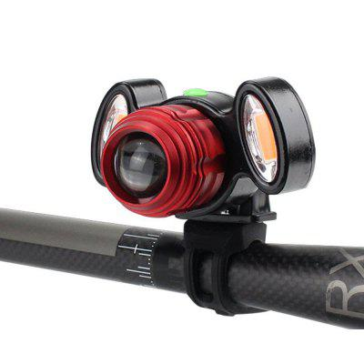 Portable Waterproof Anti-collision Bicycle Front Light
