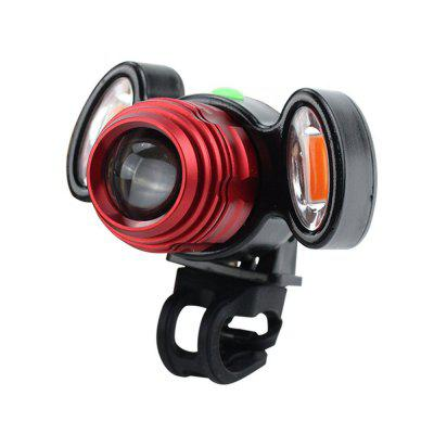 Portable Waterproof Anti-collision Bicycle Front LightBike Lights<br>Portable Waterproof Anti-collision Bicycle Front Light<br><br>Package Contents: 1 x Light ( Battery Included ), 1 x USB Cable<br>Package Dimension: 10.00 x 10.00 x 10.00 cm / 3.94 x 3.94 x 3.94 inches<br>Package weight: 0.2000 kg<br>Product Dimension: 9.00 x 7.50 x 7.50 cm / 3.54 x 2.95 x 2.95 inches<br>Product weight: 0.1200 kg<br>Suitable for: Road Bike<br>Type: Front Light