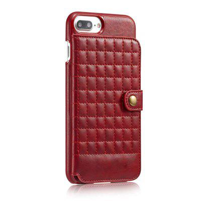 Lattice Pattern Drop Resistance TPU Phone Cover CaseiPhone Cases/Covers<br>Lattice Pattern Drop Resistance TPU Phone Cover Case<br><br>Compatible for Apple: iPhone 7 Plus, iPhone 8 Plus<br>Features: FullBody Cases<br>Material: PU<br>Package Contents: 1 x Phone Case<br>Package size (L x W x H): 17.50 x 9.50 x 2.80 cm / 6.89 x 3.74 x 1.1 inches<br>Package weight: 0.0850 kg<br>Product size (L x W x H): 16.50 x 8.30 x 1.80 cm / 6.5 x 3.27 x 0.71 inches<br>Product weight: 0.0635 kg<br>Style: Modern