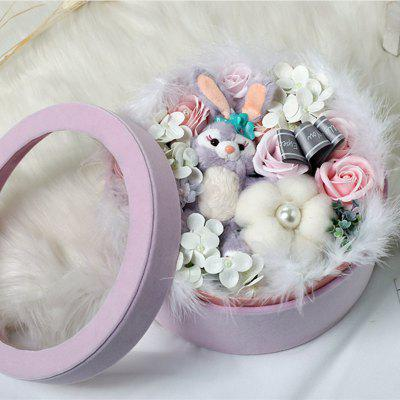 XM Romantic Valentine Soap Flowers Rabbit Doll Lint BoxOther holiday and party supplies<br>XM Romantic Valentine Soap Flowers Rabbit Doll Lint Box<br><br>Brand: XM<br>Package Contents: 1 x Box of Soap Flowers<br>Package size (L x W x H): 23.00 x 23.00 x 13.00 cm / 9.06 x 9.06 x 5.12 inches<br>Package weight: 0.5600 kg<br>Product size (L x W x H): 22.50 x 22.50 x 12.00 cm / 8.86 x 8.86 x 4.72 inches<br>Product weight: 0.5500 kg