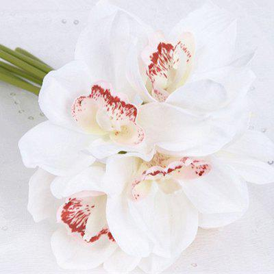 XM Artificial Cymbidium Flower Bouquet with 6 HeadsOther holiday and party supplies<br>XM Artificial Cymbidium Flower Bouquet with 6 Heads<br><br>Brand: XM<br>Package Contents: 1 x Bouquet<br>Package size (L x W x H): 24.00 x 17.00 x 10.00 cm / 9.45 x 6.69 x 3.94 inches<br>Package weight: 0.0570 kg<br>Product size (L x W x H): 17.00 x 17.00 x 24.00 cm / 6.69 x 6.69 x 9.45 inches<br>Product weight: 0.0470 kg<br>Usage: Party, Stage, Wedding, Birthday