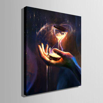 E - HOME Pretty Hourglass Print LED Luminous Canvas PaintingPrints<br>E - HOME Pretty Hourglass Print LED Luminous Canvas Painting<br><br>Brand: E-HOME<br>Craft: Print<br>Form: One Panel<br>Material: Canvas<br>Package Contents: 1 x Print<br>Package size (L x W x H): 55.00 x 75.00 x 6.00 cm / 21.65 x 29.53 x 2.36 inches<br>Package weight: 1.5000 kg<br>Painting: Without Inner Frame<br>Product size (L x W x H): 50.00 x 70.00 x 2.40 cm / 19.69 x 27.56 x 0.94 inches<br>Product weight: 1.2000 kg<br>Shape: Vertical<br>Style: Modern<br>Subjects: Fashion<br>Suitable Space: Bedroom,Cafes,Corridor,Dining Room,Game Room,Hotel,Kids Room,Living Room,Study Room / Office