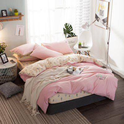 Cactus Pattern Quilt Cover Bed Sheet Pillow Cover SetBedding Sets<br>Cactus Pattern Quilt Cover Bed Sheet Pillow Cover Set<br><br>Category: Bedding Set<br>For: All<br>Material: Cotton<br>Occasion: Bedroom<br>Package Contents: 1 x Bedding Set<br>Package size (L x W x H): 48.00 x 33.50 x 9.50 cm / 18.9 x 13.19 x 3.74 inches<br>Package weight: 2.1000 kg<br>Product weight: 1.9500 kg