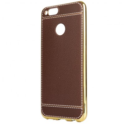 ASLING Electroplate Frame TPU PU Leather Pattern Back CoverCases &amp; Leather<br>ASLING Electroplate Frame TPU PU Leather Pattern Back Cover<br><br>Brand: ASLING<br>Compatible Model: Honor 7X<br>Mainly Compatible with: HUAWEI<br>Material: PU Leather, TPU<br>Package Contents: 1 x Cover Case<br>Package size (L x W x H): 21.00 x 12.00 x 1.30 cm / 8.27 x 4.72 x 0.51 inches<br>Package weight: 0.0430 kg<br>Product Size(L x W x H): 15.60 x 7.70 x 1.00 cm / 6.14 x 3.03 x 0.39 inches<br>Product weight: 0.0200 kg<br>Style: Novelty, Special Design