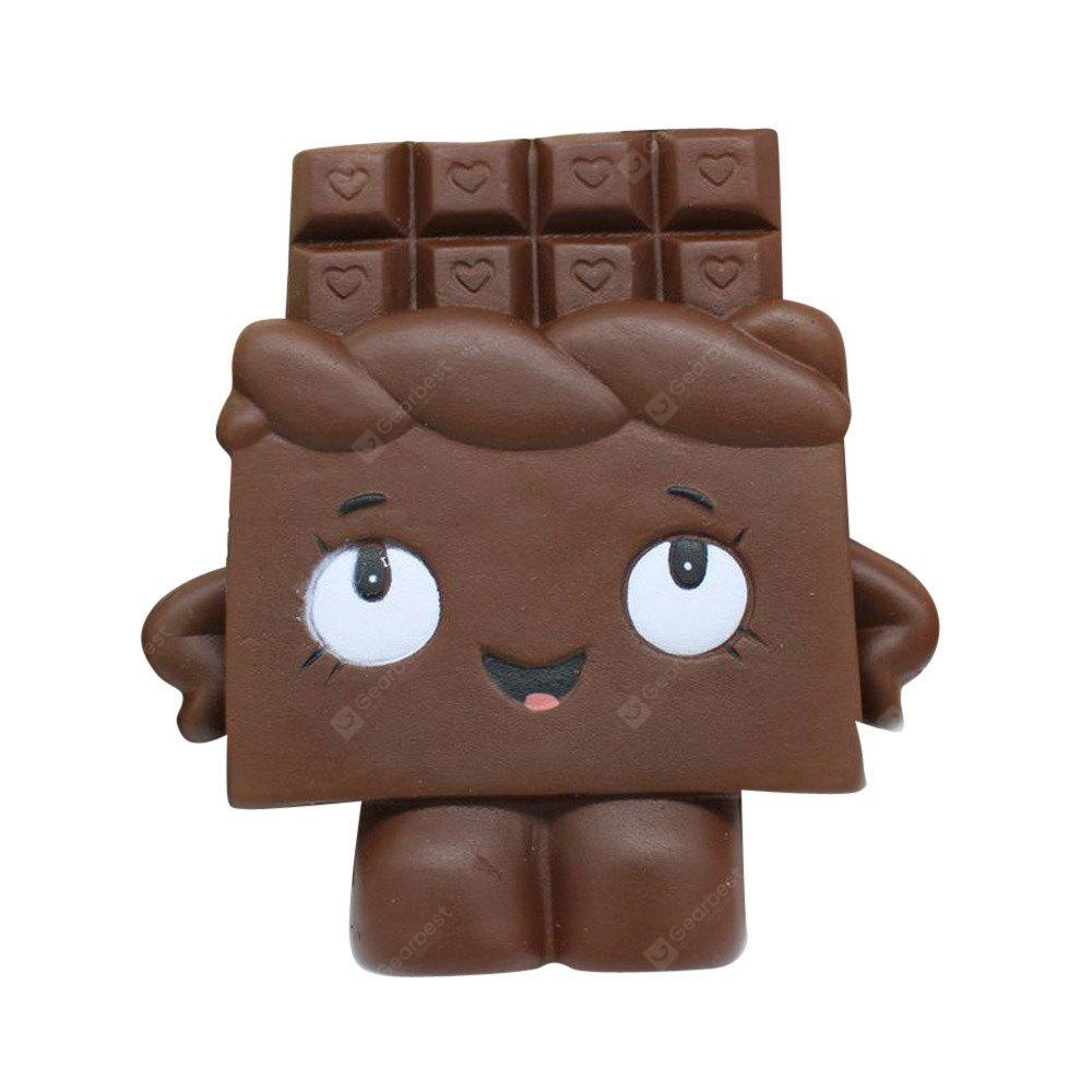 Jumbo Squishy Stress Relief Simulation Chocolate Toy 1pc
