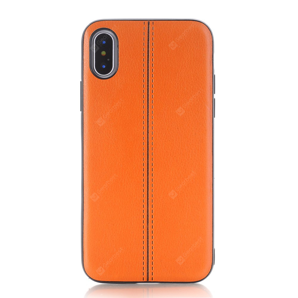 Drop Resistance PU Phone Cover Case for iPhone X