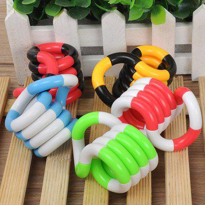 Unlimited Twists and Turns Decompression Toy 1pcNovelty Toys<br>Unlimited Twists and Turns Decompression Toy 1pc<br><br>Features: DIY Toy<br>Materials: Plastic<br>Package Contents: 1 x Toy<br>Package size: 8.00 x 4.00 x 3.00 cm / 3.15 x 1.57 x 1.18 inches<br>Package weight: 0.0300 kg<br>Product weight: 0.0230 kg<br>Series: Entertainment<br>Theme: Other